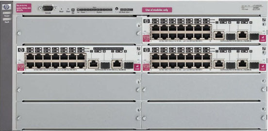 HP ProCure Network Configuration Guide (5308xl / 2650)