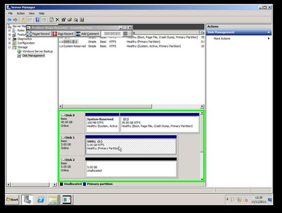 Windows Server 2008 : Storage Migration No Impact!