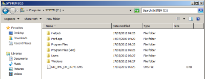 ConfigMgr 2012 : Prevent Configuration Manager Using a Hard Drive
