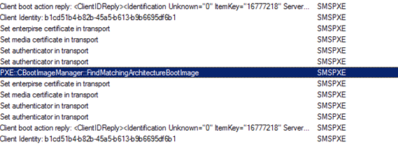 ConfigMgr 2012 : Secondary Site Distibution Point PXE Error 53