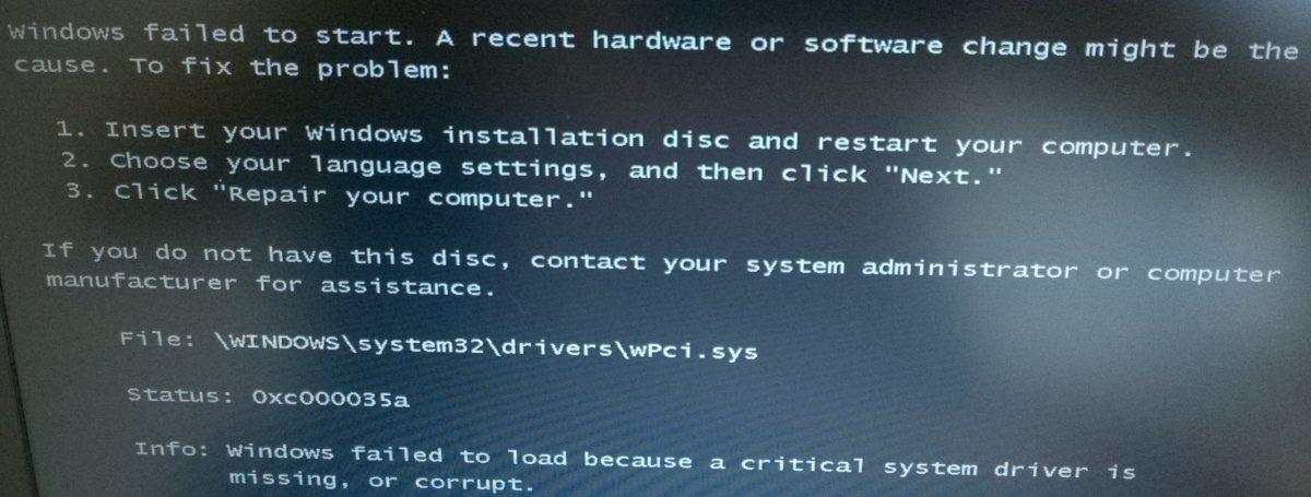 ConfigMgr : Dell Latitude E7240 and E7440 wPci.sys