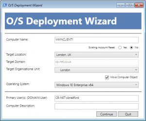 Introducing OSD Wizard - A PowerShell Front-End / HTA for